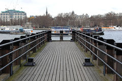 Pier London Royalty Free Stock Photography