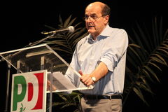 Pier Luigi Bersani, national secretary of the  PD Stock Photography