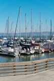 Yacht marina parking in San Francisco USA Stock Photography