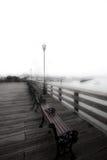 pier mgła Fotografia Stock