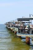 Pier in Miedzyzdroje Royalty Free Stock Photos