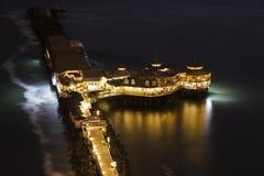 Pier in Miraflores, Lima Stock Photos