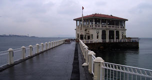 The Pier of Moda Stock Image