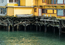 Pier at Monterey, California Stock Photography