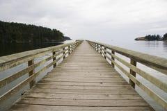 Pier near Deception Pass Stock Image