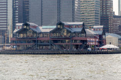 Pier 17, New York Lizenzfreies Stockfoto