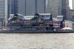 Pier 17, New York lizenzfreies stockfoto
