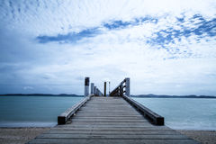 Pier, New Zealand Stock Images