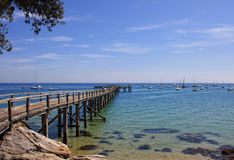 Pier in Noirmoutier Royalty Free Stock Photography