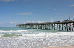 Pier on North Carolina Royalty Free Stock Images