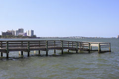 Pier North of Sarasota Royalty Free Stock Photo