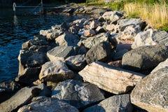 Pier in Norwegen Lizenzfreie Stockfotos