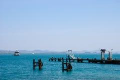 Pier oder Anlegestelle Lizenzfreies Stockfoto