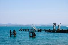 Pier oder Anlegestelle Lizenzfreies Stockbild