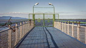 Pier. Royalty Free Stock Photography