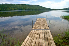 Pier On Lake 3506 Royalty Free Stock Photography