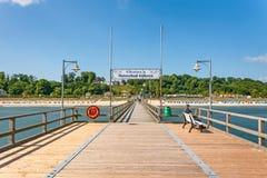 Pier Ostseebad Göhren, Rügen Stock Images