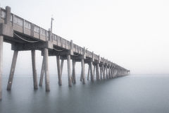Pier over calm water Stock Image