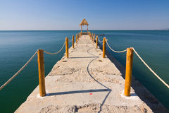 Pier over Waters Royalty Free Stock Photos