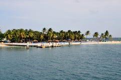 Pier am Palomino Stockfotografie