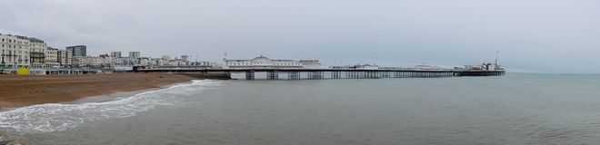Pier Panorama Stock Image