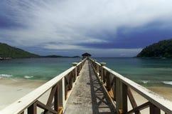 Pier in Perhentian Islands Stock Image