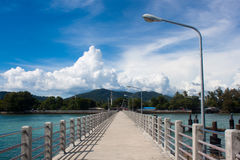 A pier on Phuket island, Thailand Stock Photography