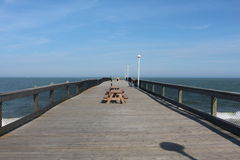 Pier. Picture of the pier in ocean city Maryland usa Royalty Free Stock Photography