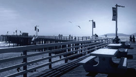Pier. At Pismo Beach Royalty Free Stock Photography