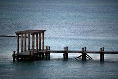 Pier at Playa del Carmen. Mexico, Mayan Riviera Royalty Free Stock Photo
