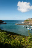 Pier of Port Isaac Royalty Free Stock Photo