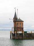 Pier of the port of konstanz Stock Images