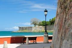 Pier in Puerto Rico Stockfoto