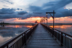 Pier in Pukhet Thailand Royalty Free Stock Photo