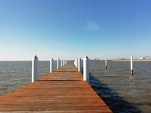 PIer of Queen Anne`s County, Maryland stock images