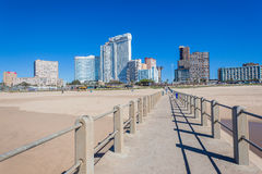 Pier Beach Durban Hotels Landscape Royalty Free Stock Photography