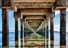 Pier in Rawai Lizenzfreie Stockbilder