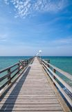 Pier of Rerik,Germany Stock Images