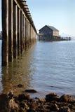 Pier's End, Garibaldi, Oregon vertical Stock Images