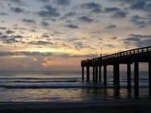 Pier Saint Augustine Florida Beaches stock fotografie