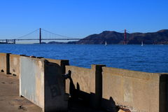 Pier in San Francisco Stock Photography