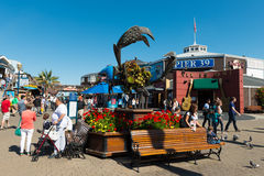 Pier 39 San Francisco Stock Photo