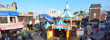 Pier 39 San Francisco - California United States Royalty Free Stock Image
