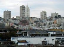 Pier 41 in San Francisco  Royalty Free Stock Photos