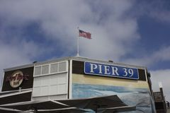 Pier 39 in San Francisco Stock Photography