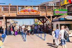 Pier 39 of San Francisco Stock Image