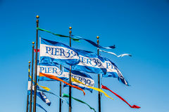 Pier 39 - San Francisco. Pier 39 is a shopping center and popular tourist attraction built on a pier in San Francisco, California. At Pier 39, there are shops Royalty Free Stock Photo