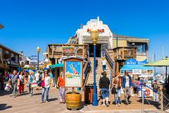 Pier 39 of San Francisco Royalty Free Stock Photography