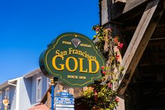Pier 39 of San Francisco Royalty Free Stock Photo