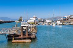 Pier 39 of San Francisco Stock Images